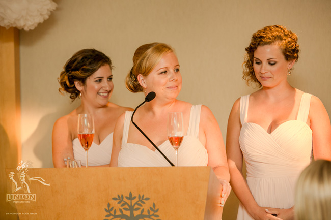 bridesmaids speech