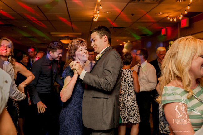 groom dancing with his mother-in-law