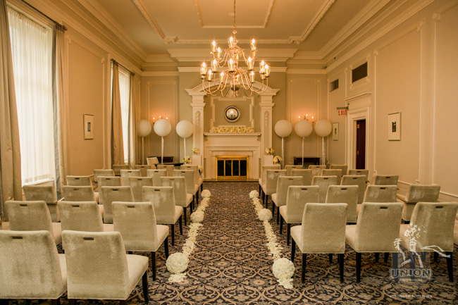 Georgian Room wedding at Vancouver Club
