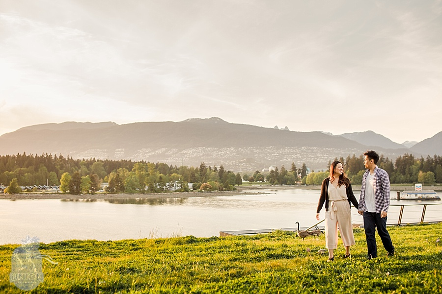 Vancouver engagement photo