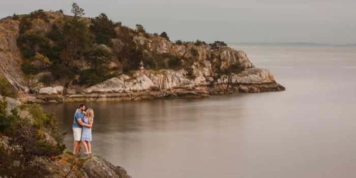 Julia & Ben's Engagement Photo Session at Whytecliff Park