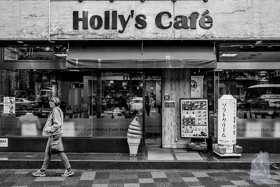 Holly's cafe in Kyoto