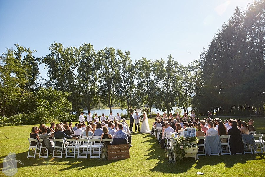 outdoor wedding ceremony venue Vancouver