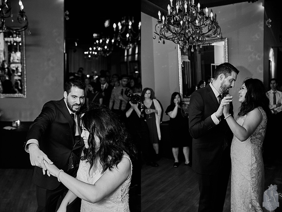 first dance at Brix & Mortar